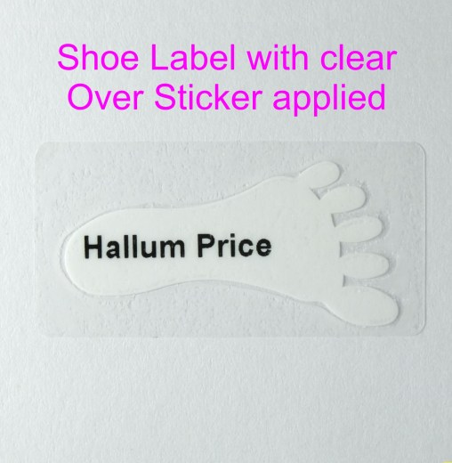 Freaky Feet Shoe Labels